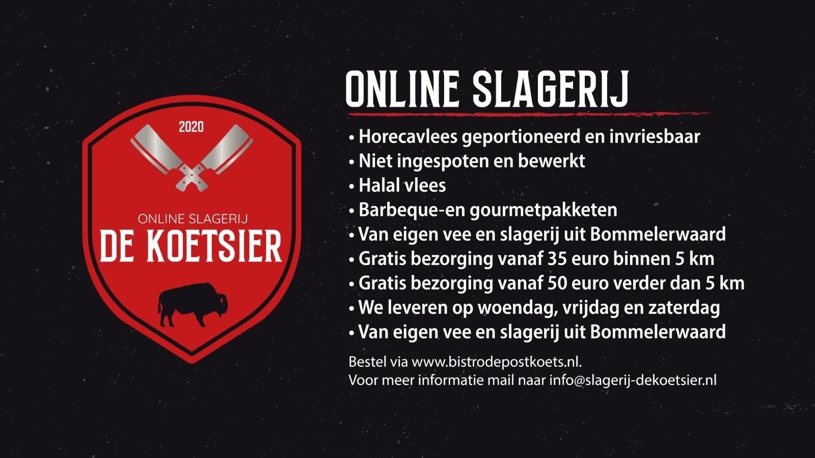 Nieuw Slagerij De Koetsier